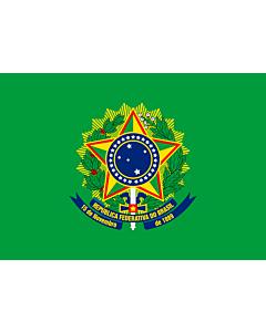 Flag: Presidential Standard of Brazil | Presidential Flag of Brazil