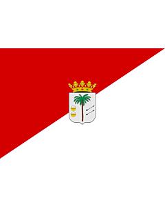 Flag: La Palma del Condado, Huelva, Spain