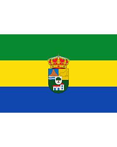 Flag: Tres Villas   Municipio de Las Tres Villas en la Provincia de Almería  España