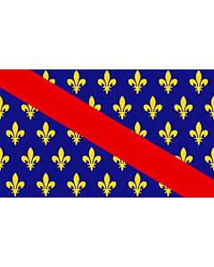 Flag: French province of Bourbonnais