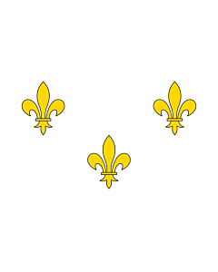 Flag: Royalist France   Royalist France prior to 1789 and from 1814-30 I created this image as a vector replacement for Image French Fleur-De-Lis  White