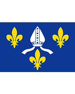 Flag: French province of Saintonge