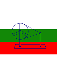 Flag: 1921 India   Used by the Indian National Congress in 1921