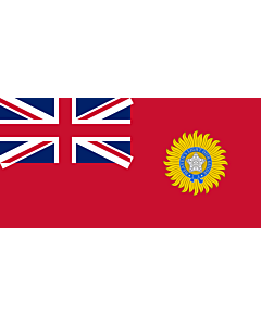 Flag: British Raj Red Ensign