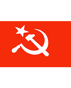 Flag: SUCI   Official flag of the Socialist Unity Centre of India as per its constitution
