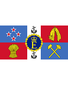 Flag: Queen Elizabeth II s personal flag for New Zealand