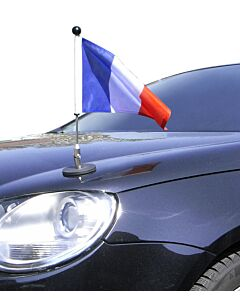 Magnetic Car Flag Pole Diplomat-1.30 France